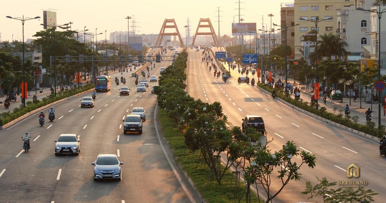 Đại lộ Phạm Văn Đồng, một trong những tuyến đường quan trọng của TP Thủ Đức
