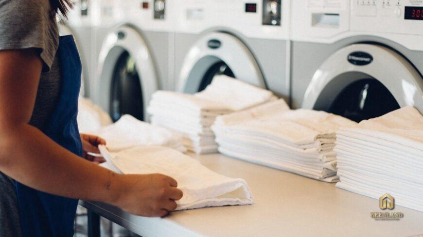 Dịch vụ giặt sấy - Tiện ích nội khu dự án PNT Court Quận 3