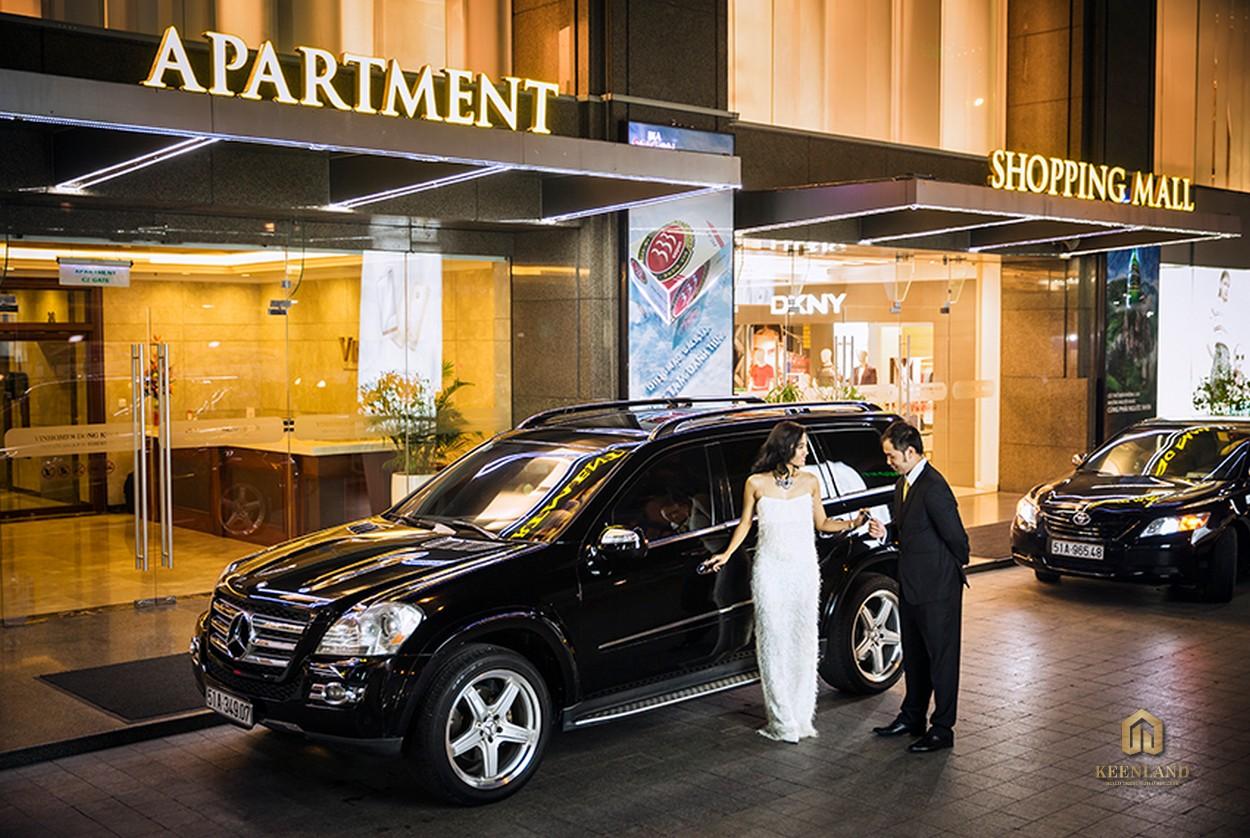 Dịch vụ Valet Parking tại dự án Vinhomes Đồng Khởi