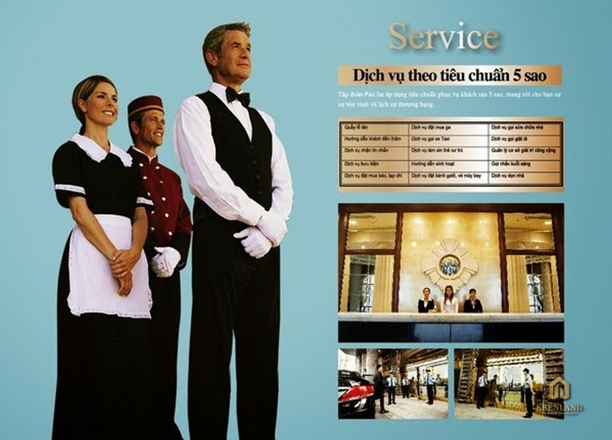 Dịch vụ tiện ích tại Docklands Saigon Quận 7