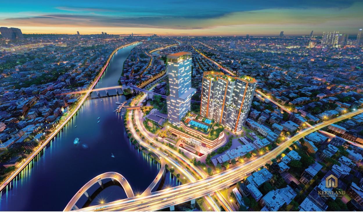 Phối cảnh dự án Dragon Riverside City