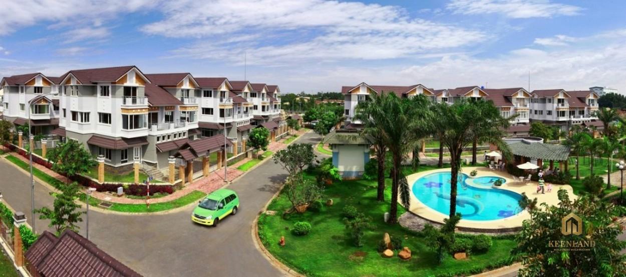 Dự án EHome 5 thuộc Khu dân cư Nam Long