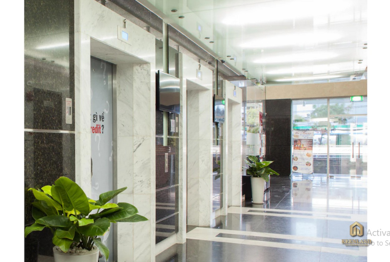 Sảnh thang máy tại dự án An Phú Apartment