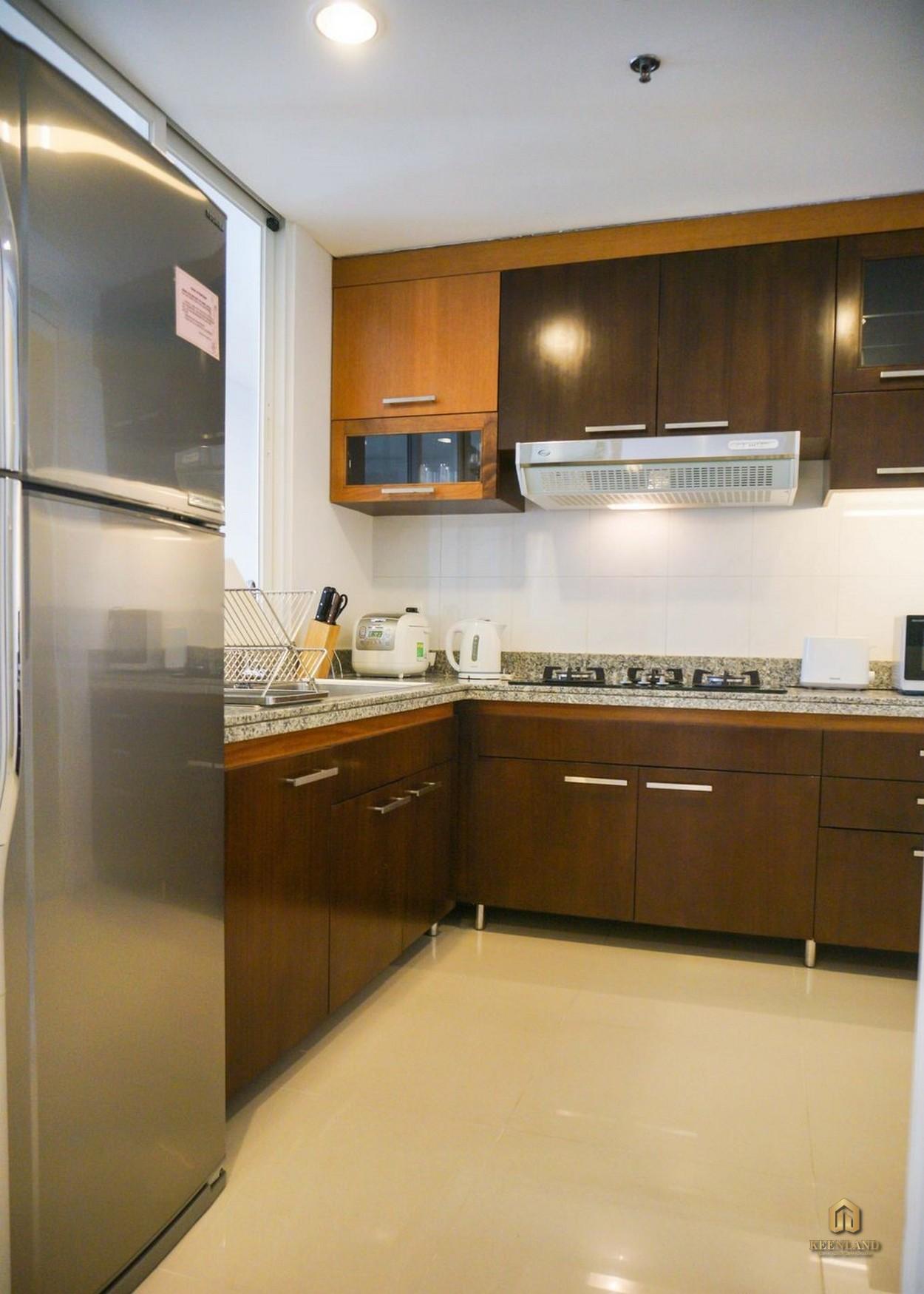 Nhà bếp tại căn hộ An Phú Plaza Quận 3