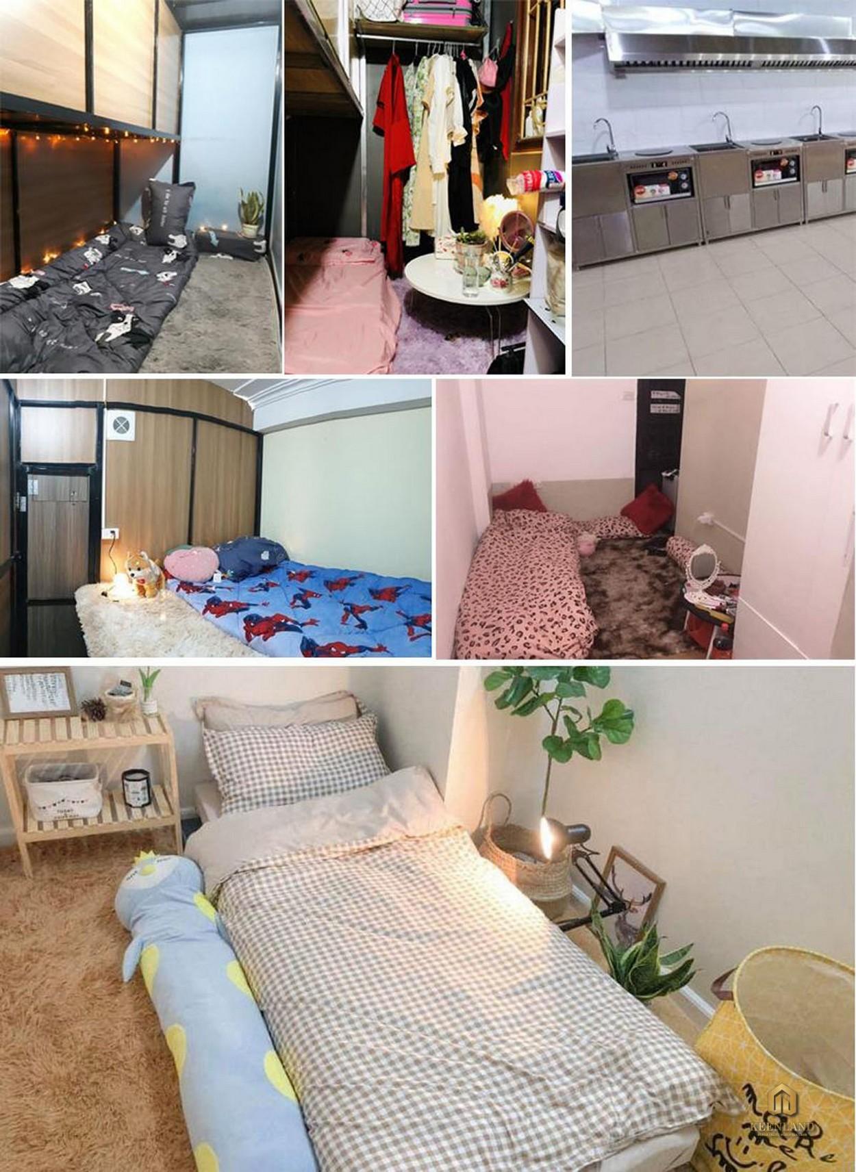 Hình ảnh thực tế căn hộ Bee Home