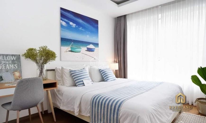 Phòng ngủ tại căn hộ BMC thực tế