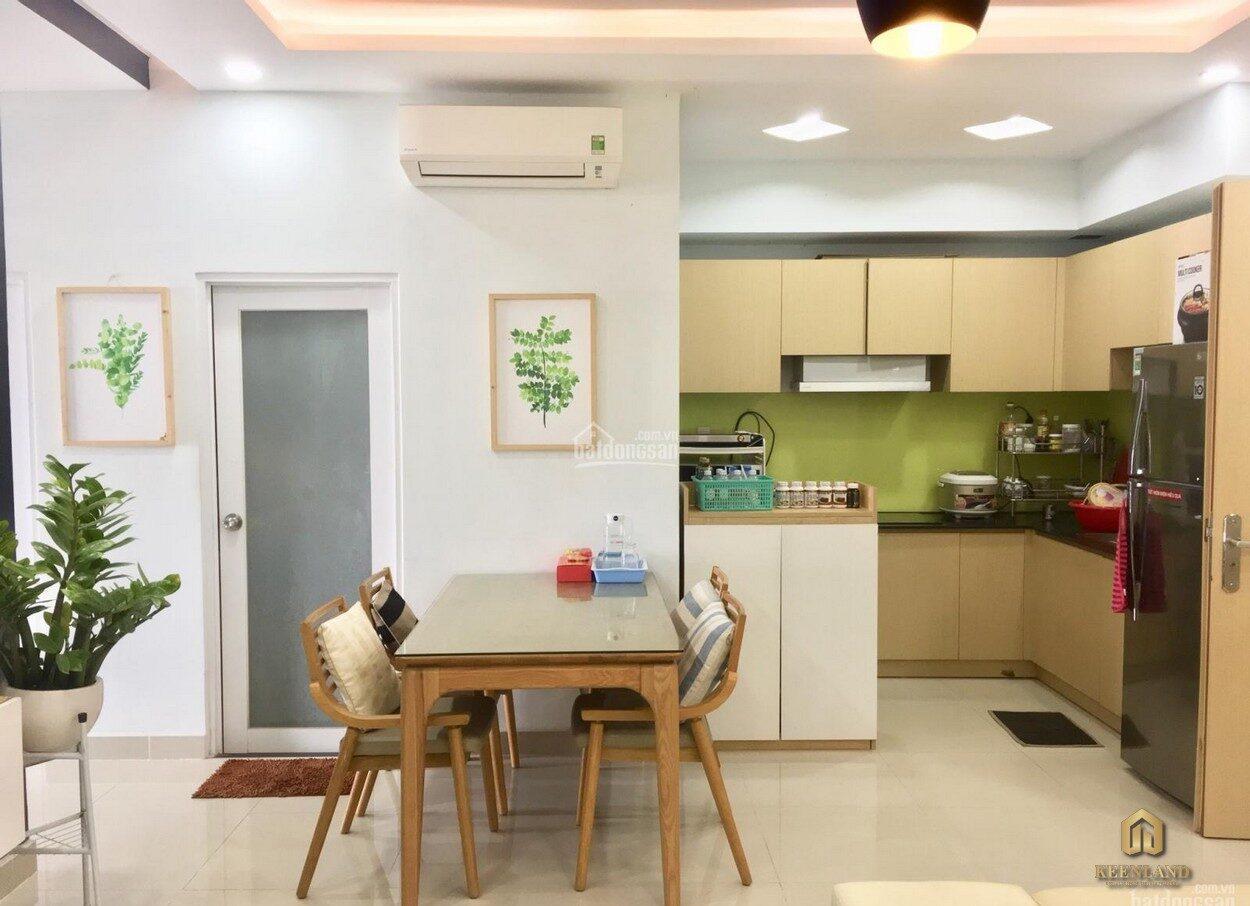 Gian bếp căn hộ chung cư Thế Hệ Mới