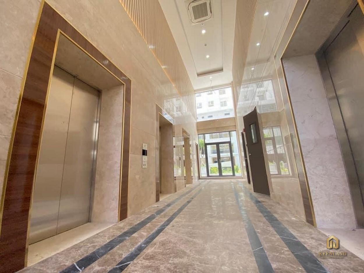 Hình ảnh thực tế sảnh thang máy  City Gate 2
