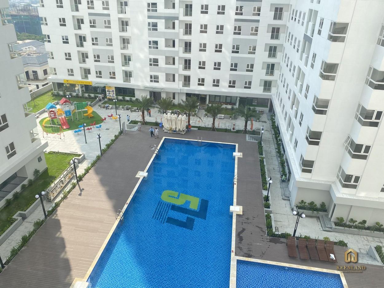 Hình ảnh thực tế hồ bơi  City Gate 2 Quận 8