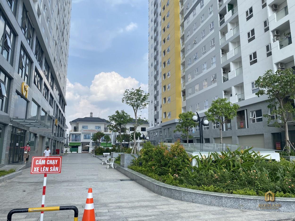 Hình ảnh thực tế khuôn viên dự ánCity Gate 2 Quận 8