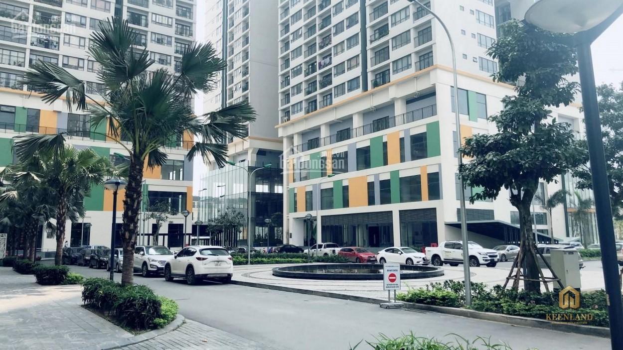 Đường nội bộ phía trước tòa nhà Horizon Tower