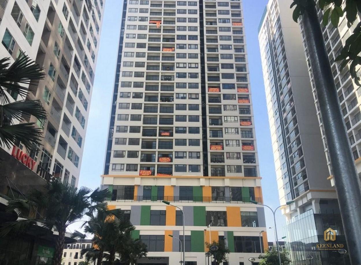 Cận cảnh mặt tiền chung cư Horizon Tower
