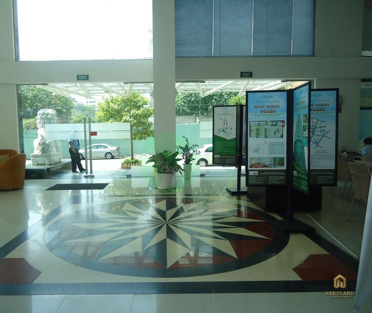 Sảnh dự án tại Indochina Park Tower