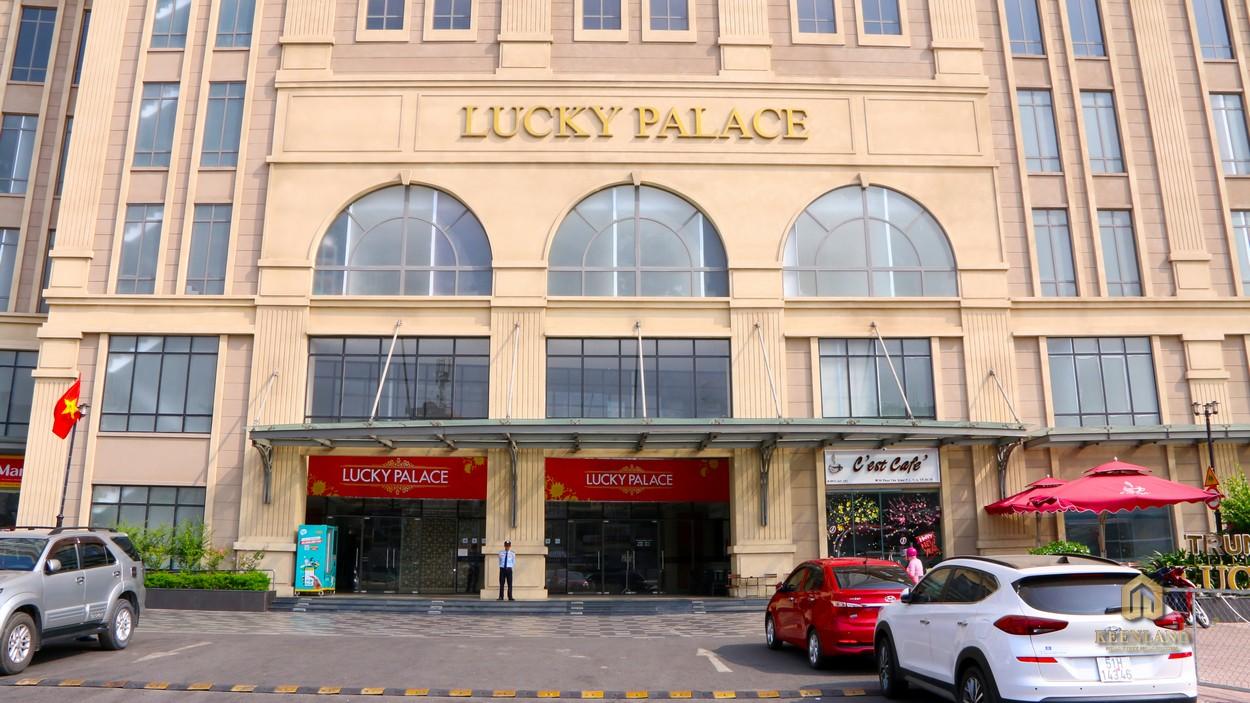 Cận cảnh mặt tiền dự án Lucky Palace