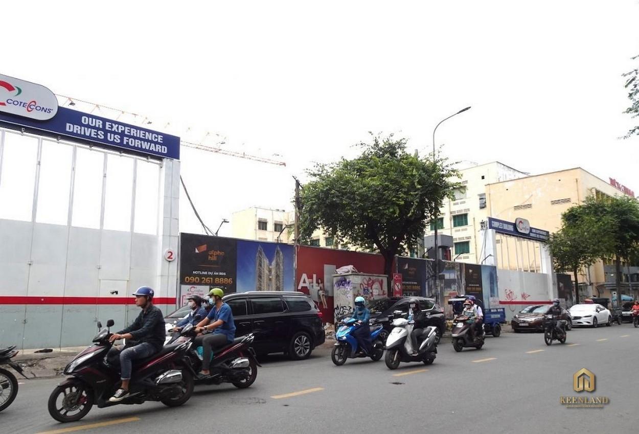 Khu vực xung quanh tòa nhà The Vertex Private Residences