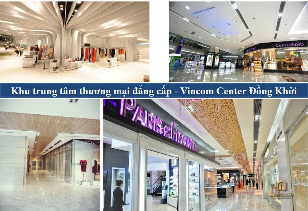 Trung tâm thương mại tại Vinhomes Đồng Khởi