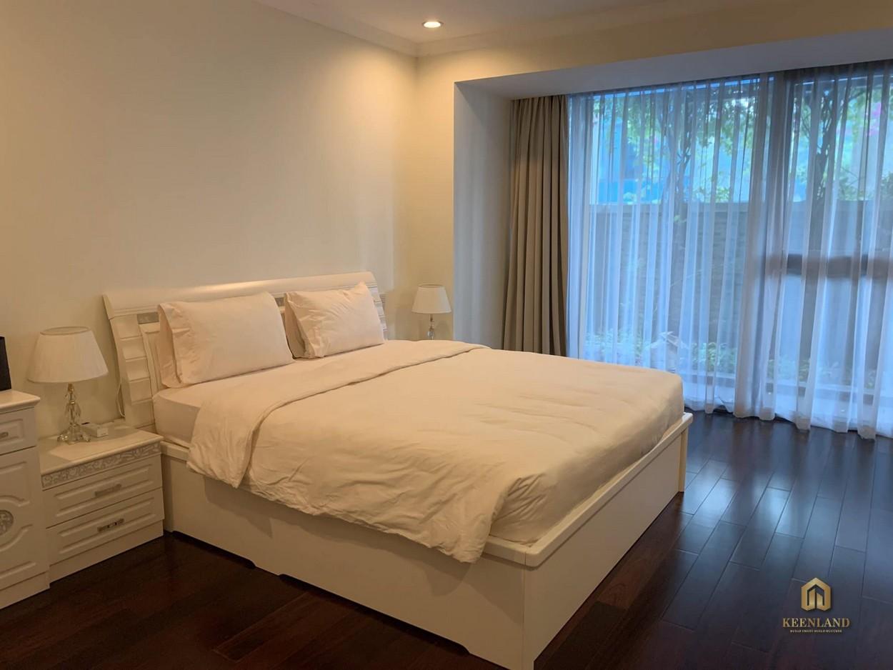 Phòng ngủ căn hộ Vinhomes Đồng Khởi