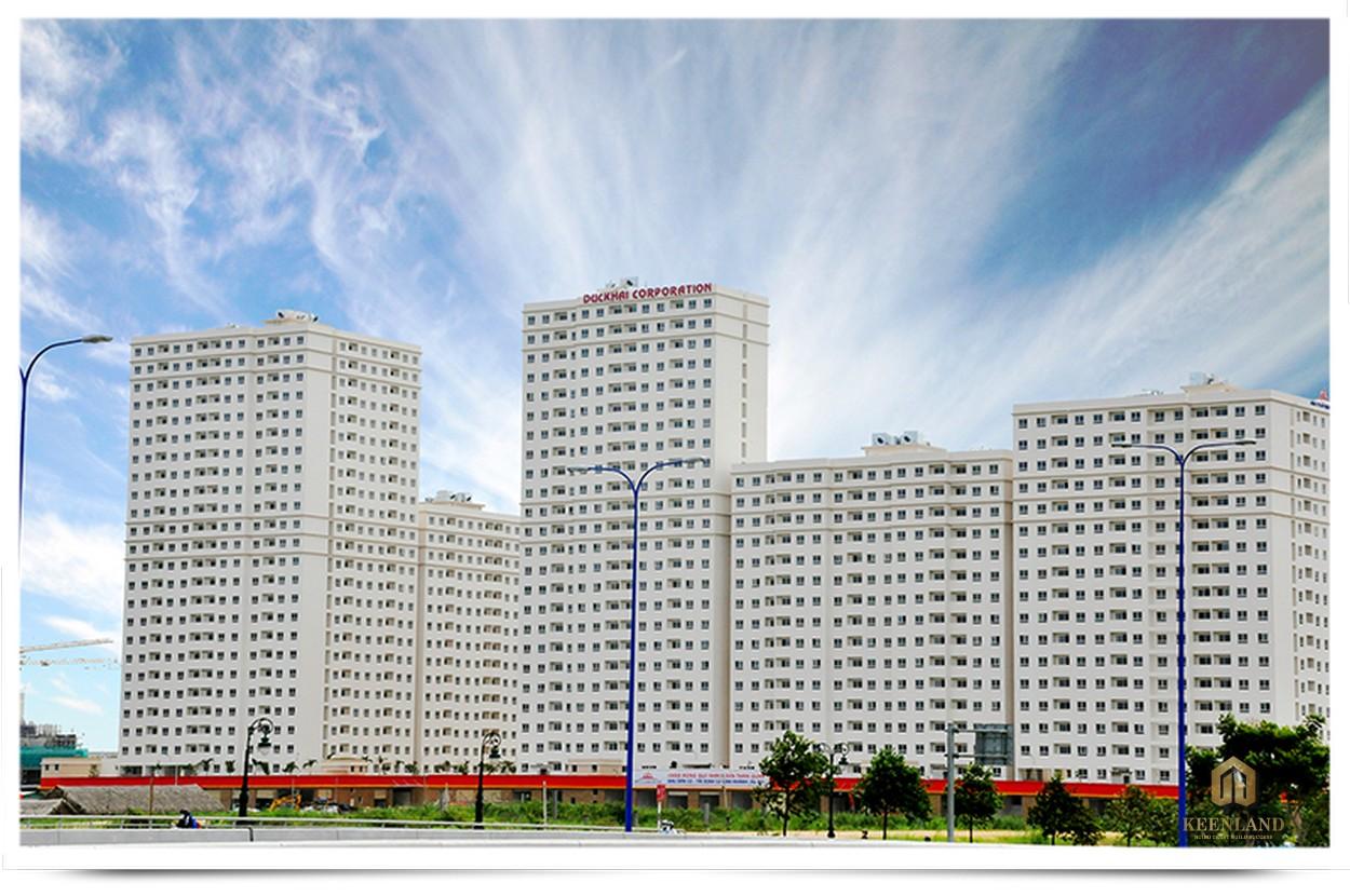 Phối cảnh Khu dân cư tái định cư Bình Khánh