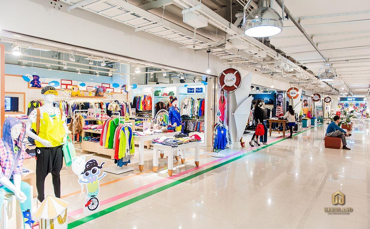 Khu mua sắm - Tiện ích nội khu dự án Lucky Palace