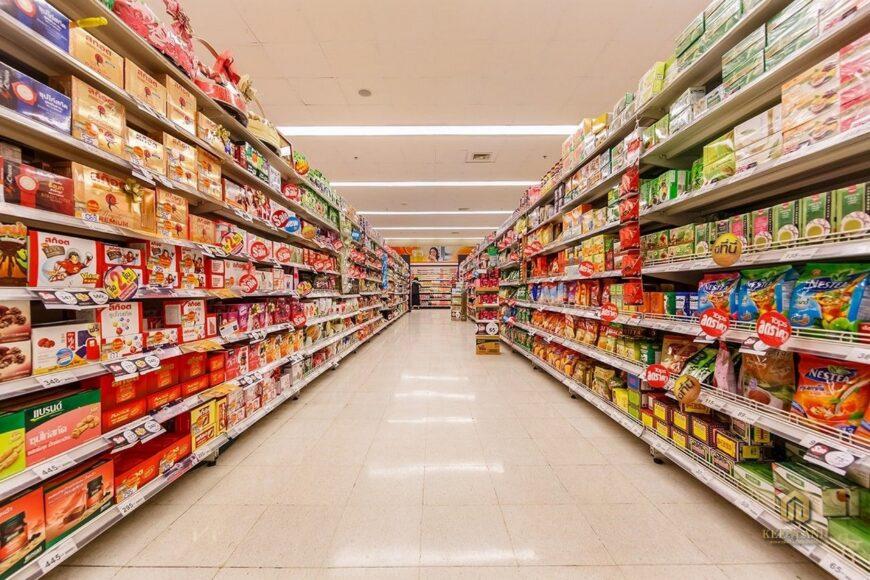 Khu mua sắm - Tiện ích nội khu dự án chung cư Vạn Đô Quận 4