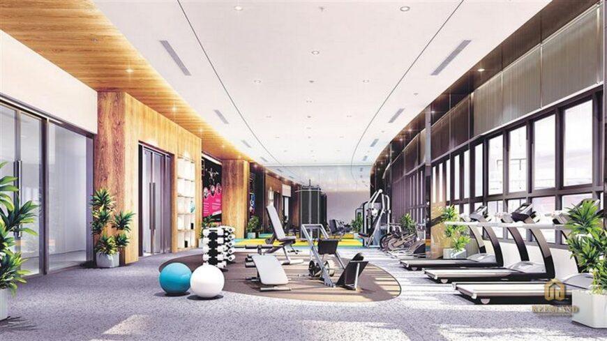 Khu tập thể dục thể thao - Tiện ích nội khu dự án chung cư 155 Nguyễn Chí Thanh