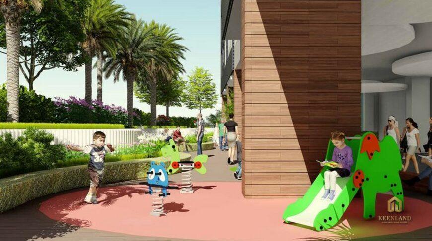 Khu vui chơi dành cho trẻ em - Tiện ích nội khu dự án chung cư 155 Nguyễn Chí Thanh