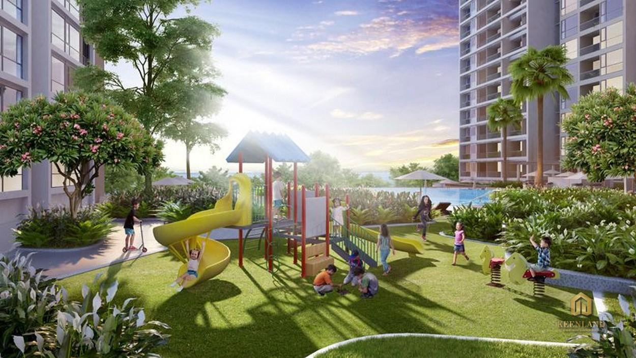 Khu vui chơi tại dự án Ngọc Lan Apartment Quận 7