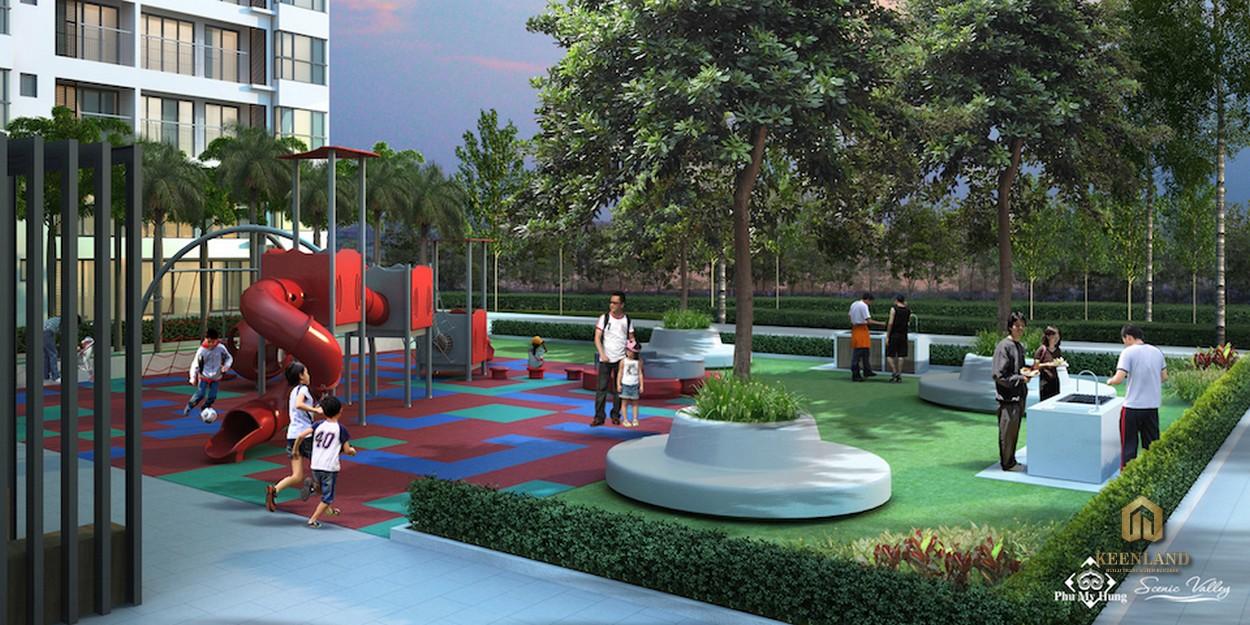 Tiện ích nội khu dự án Scenic Valley 2 Quận 7