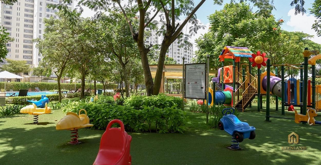 Khu vui chơi trẻ em - Tiện ích nội khu dự án Riverside Residence Quận 7