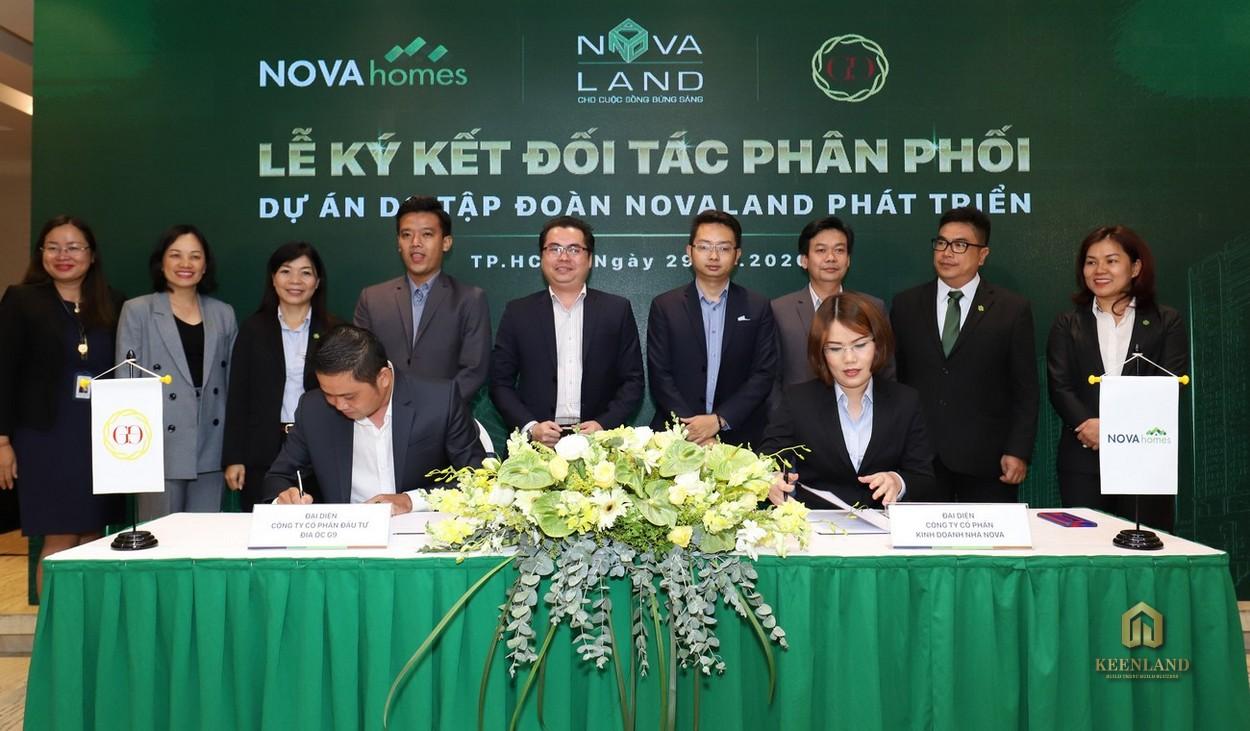 Lễ ký kết đối tác phân phối của Tập đoàn Novaland