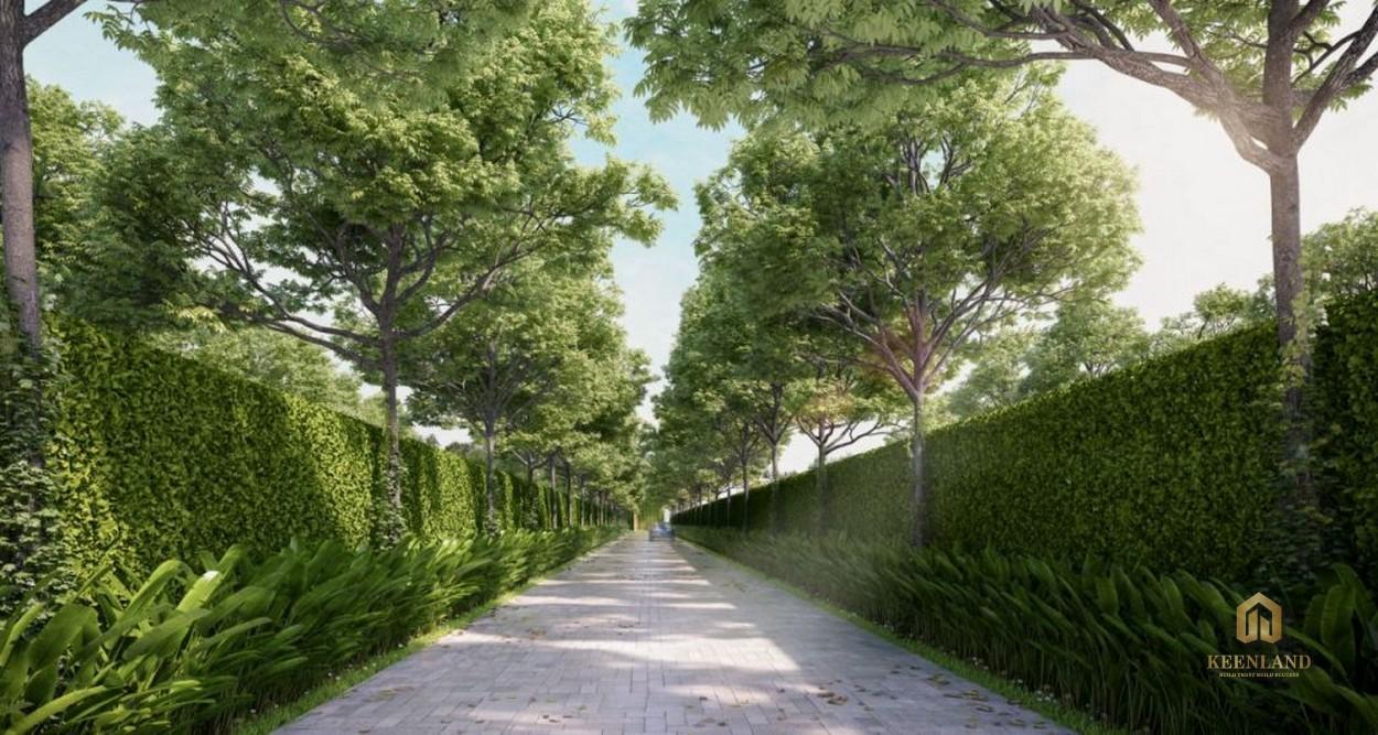 Lối dạo bộ - Tiện ích nội khu dự án Ascent Garden Homes Quận 7