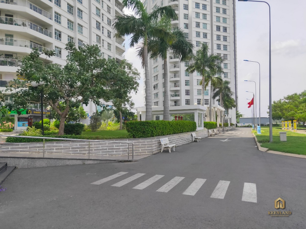 Đường nội bộ dự án Hoàng Anh Thanh Bình Quận 7