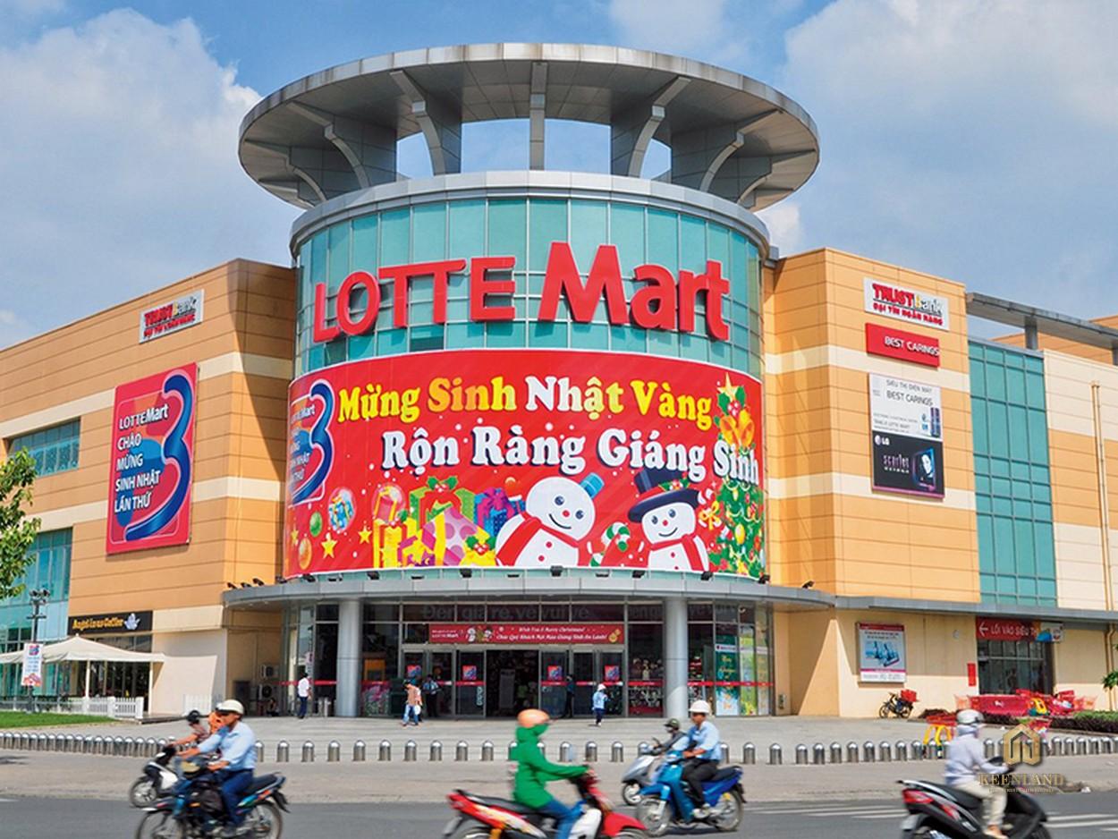 Siêu thị Lottle Mart đối diện Hoàng Anh Gia Lai 1