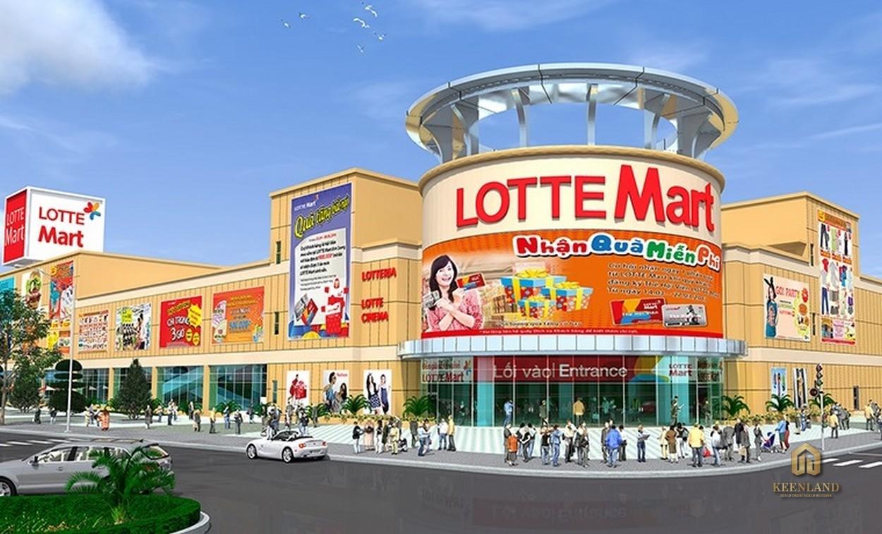 Siêu thị Lottle Mart nằm đối diện dự án  Hoàng Anh Thanh Bình Quận 7