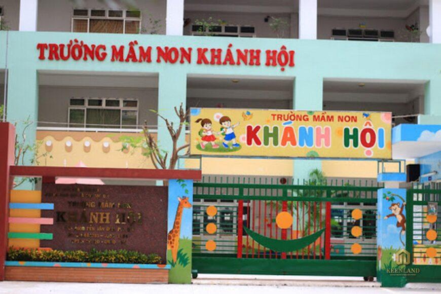 Trường Mầm non Khánh Hội - Tiện ích nội khu dự án chung cư Khánh Hội 2