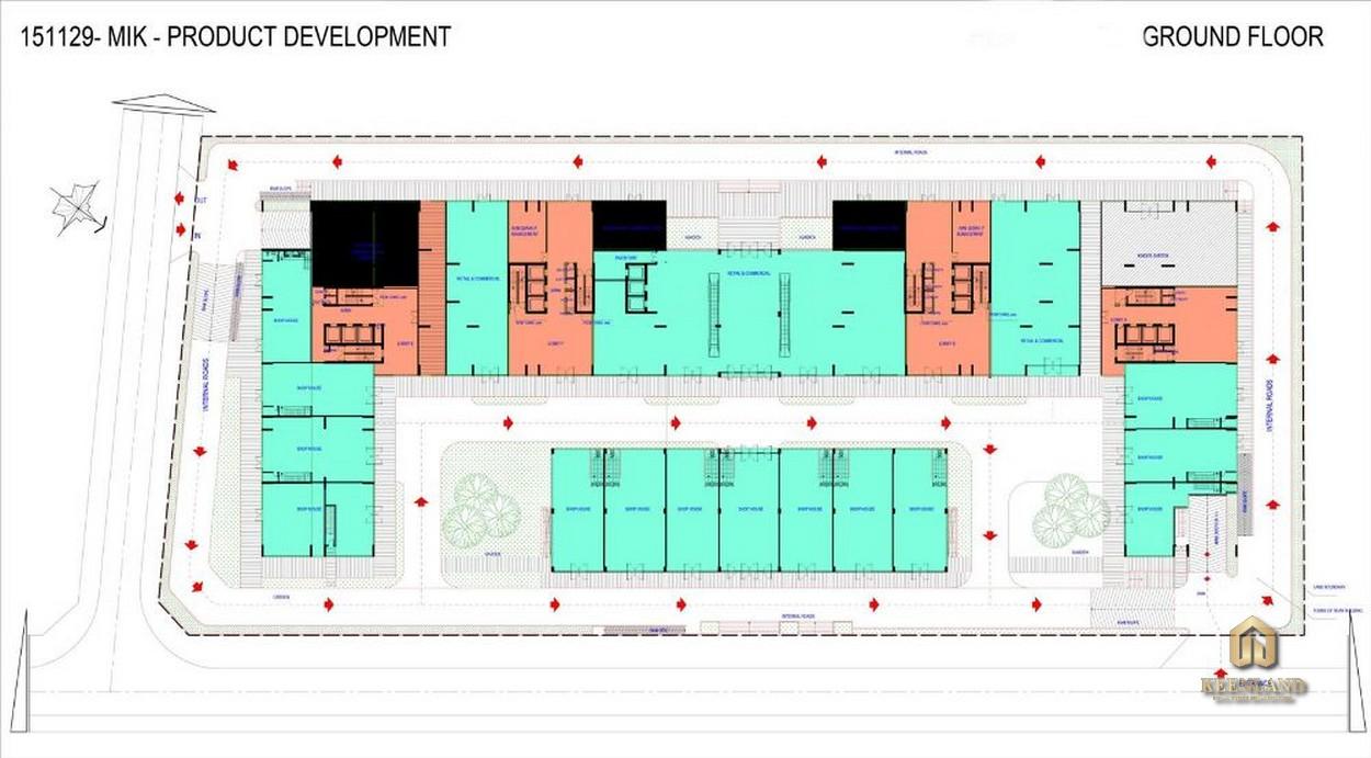 Mặt bằng chi tiết dự án Ascott Waterfront Saigon