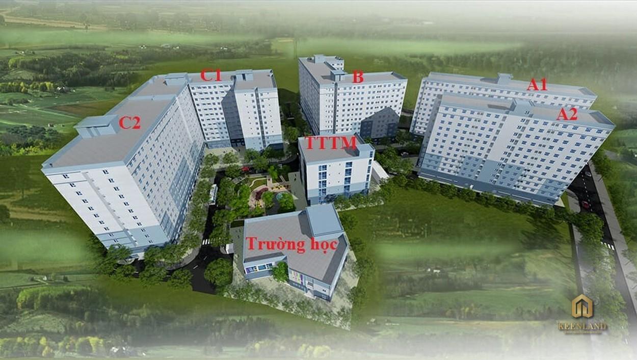Mặt bằng tổng thể dự án Indochina Park Tower