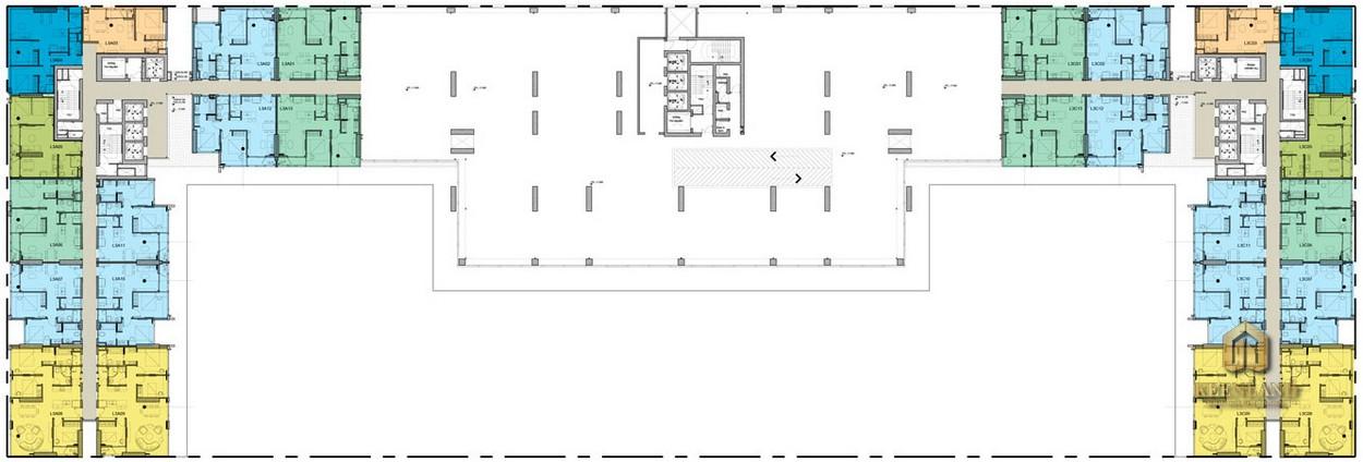 Mặt bằng tầng 3 dự án Kingdom 101