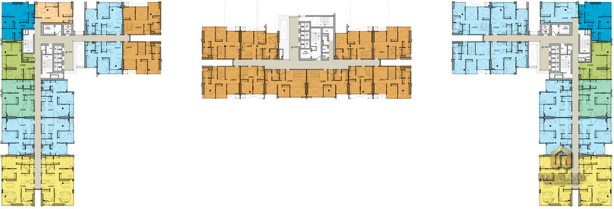 Mặt bằng tầng 6 dự án Kingdom 101