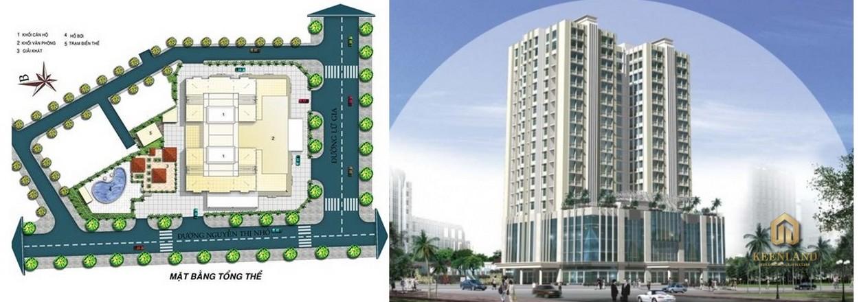 Mặt bằng tổng thể dự án Lữ Gia Plaza