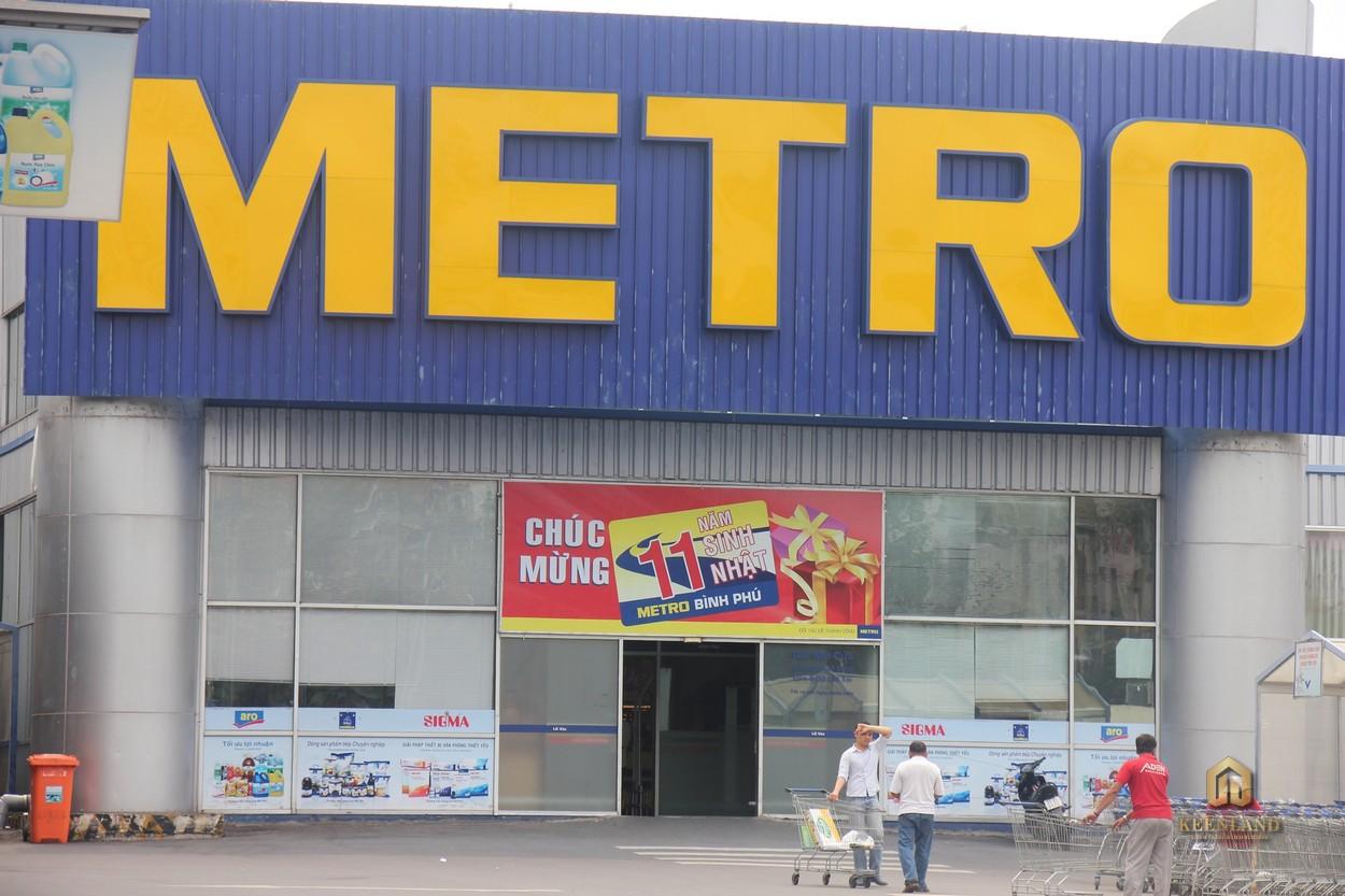 Metro Bình Phú - Tiện ích ngoại khu dự án Viva Riverside Quận 6