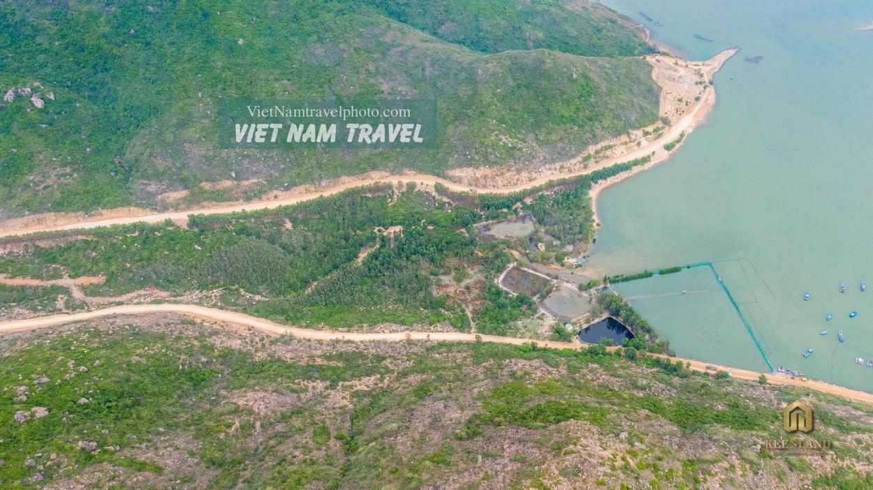 Hình ảnh dự án Merry Land Quy Nhơn chụp từ trên cao