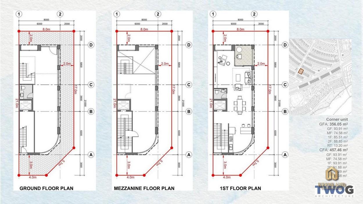 Thiết kế chi tiết Shophouse Hải Giang Merry Land