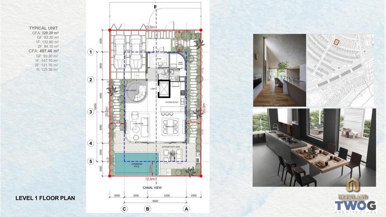 Thiết kế chi tiết biệt thự Merry Land