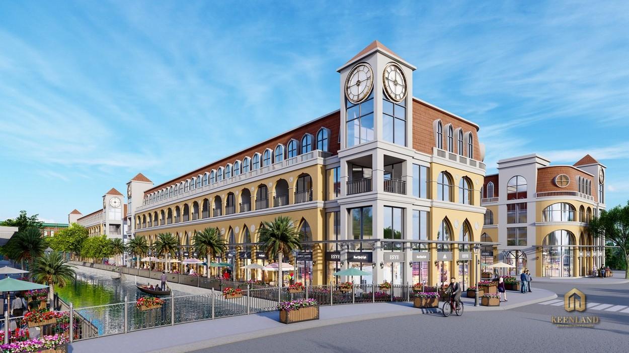 Thiết kế shophouse Merry Land Quy Nhơn