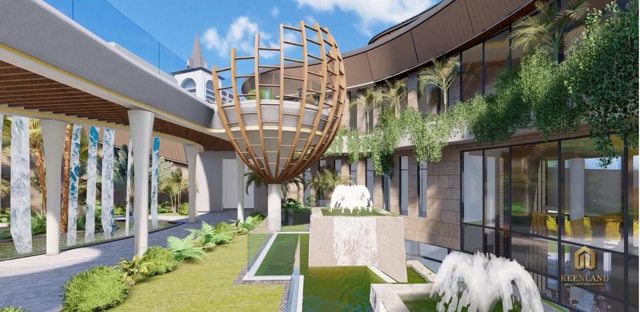 Không gian nghỉ dưỡng sang trọng tại dự án