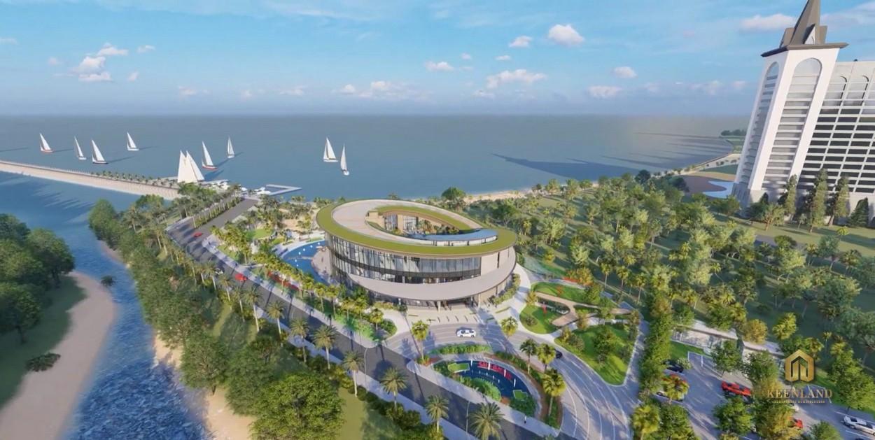 Hình ảnh dự án Merry Land nhìn từ trên cao