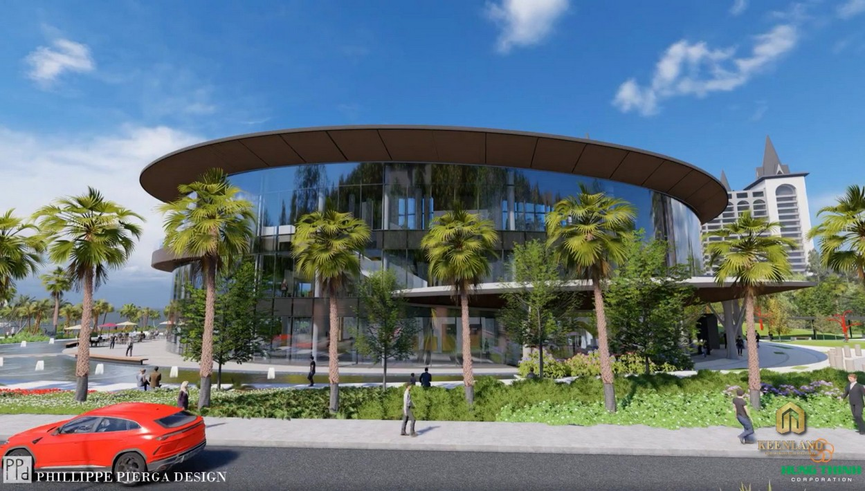 Clubhouse tại tầng trệt dự án Merry Land Hưng Thịnh