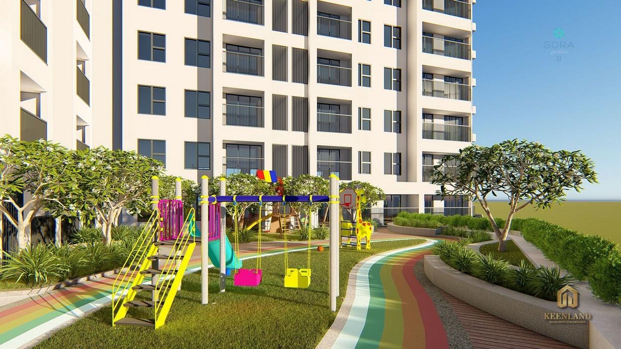 Tiện ích nội khu dự án Sora Gardens I Thủ Dầu Một