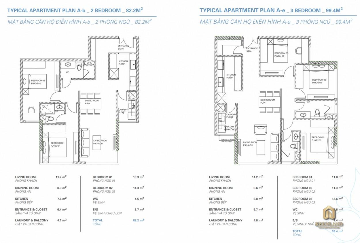 Thiết kế chi tiết căn hộ Sora Gardens I Thủ Dầu Một